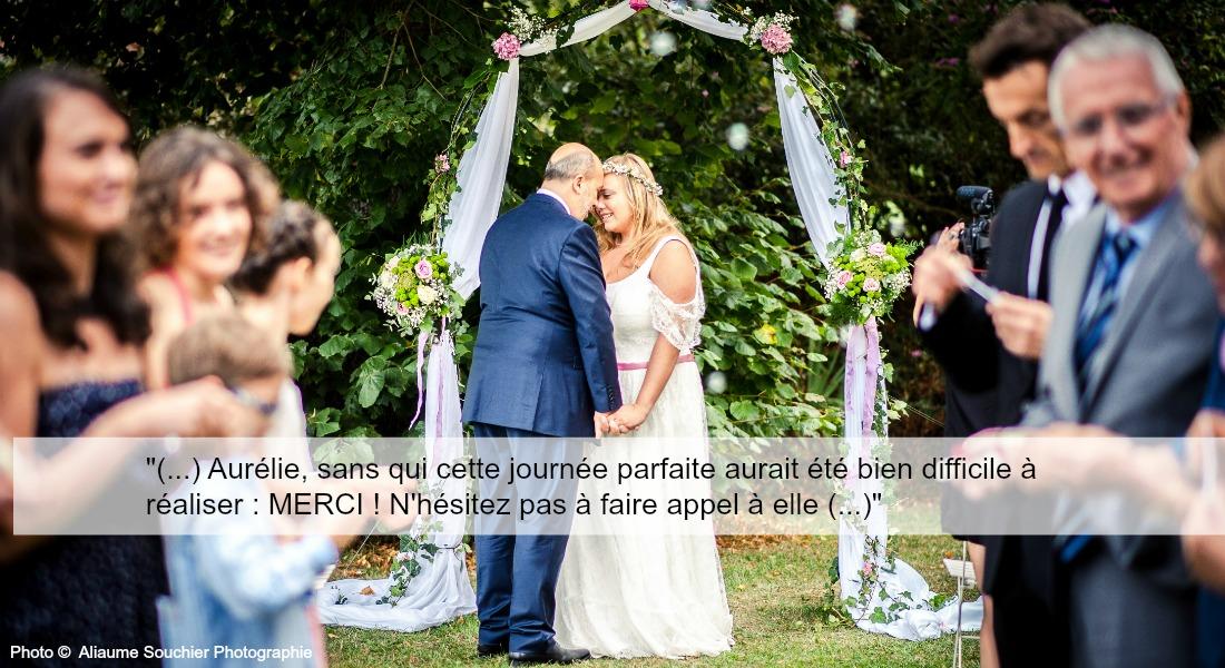 Témoignage Mariage Heloise et pierre-aurelie cousseau cérémonie