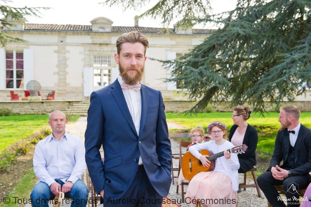 le marié hipster- Shooting-Inspiration-Mariage hipster-Château-Frombauge-Marine-Monteils-Photographe-aurelie cousseau cérémonies