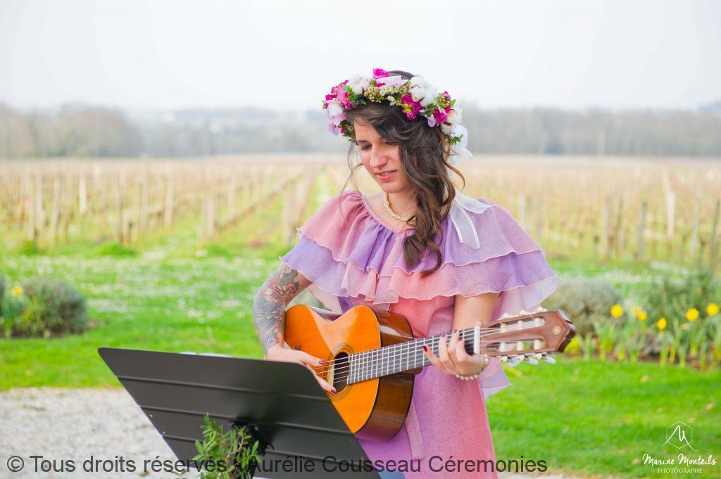 Shooting-Inspiration-Mariage hipster-Château-Frombauge-Marine-guitare-Monteils-Photographe-aurelie cousseau cérémonies