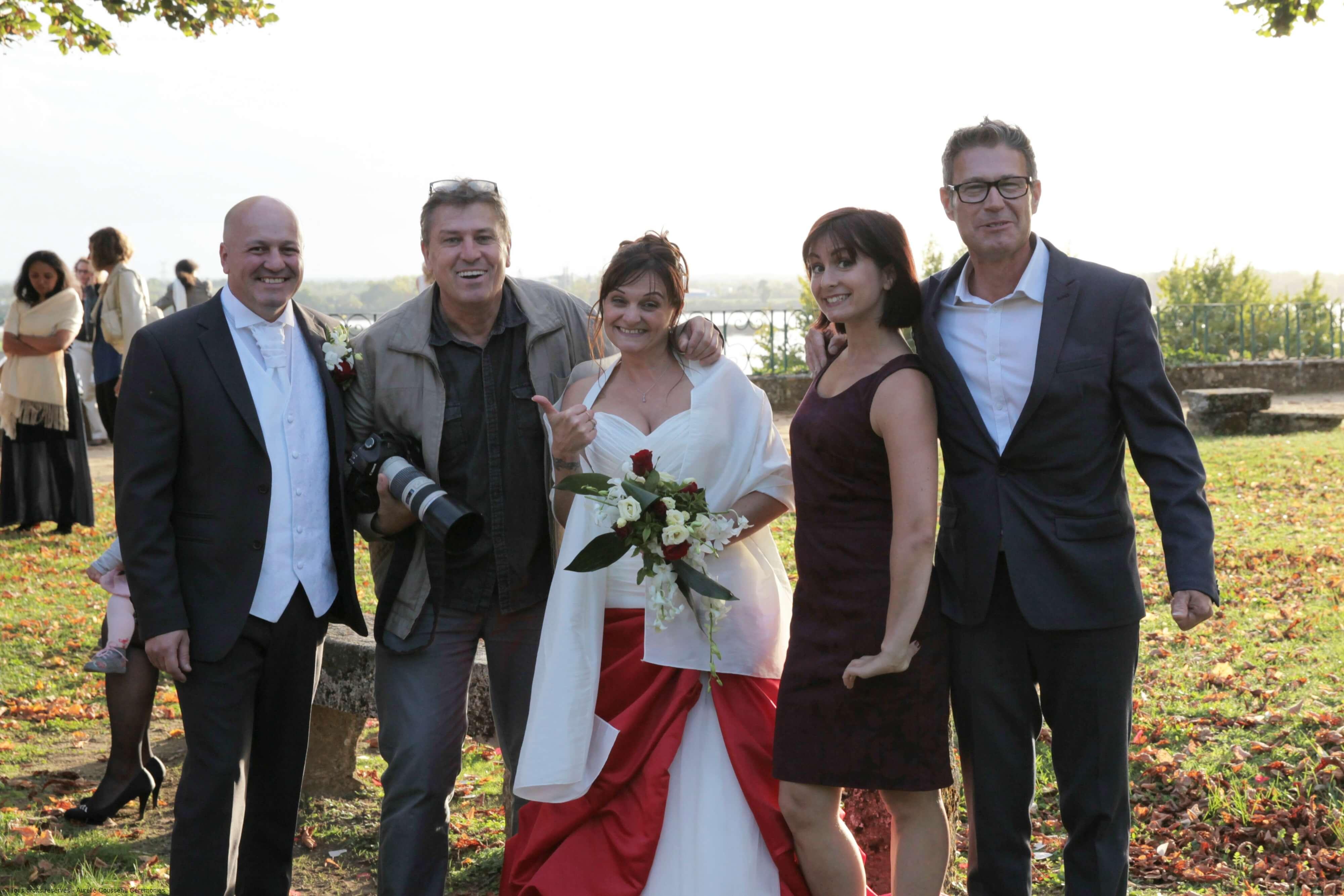 équipe_mariage-cérémonie de V&D-Photo Philippe Castex-aurelie cousseau cérémonies